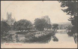 Bath From North Parade, Somerset, 1904 - Hartmann Postcard - Bath