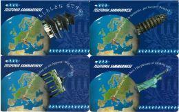 SERIE SCHEDE TELEFONICHE NUOVE RSM 7-10 1^ SERIE PRONTO CHI PARLA - San Marino