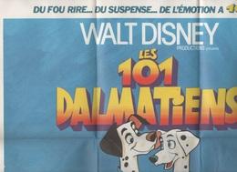 AFFICHE / POSTER LES 101 DALMATIENS - WALT DISNEY PRODUCTIONS - MICKEY CLUB DU LIVRE - Posters
