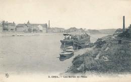 Creil (60 - Oise) Les Bords De L'Oise - Péniche - édit KD N° 3 - Creil