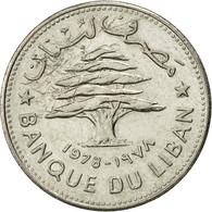 Monnaie, Lebanon, 50 Piastres, 1978, SUP, Nickel, KM:28.1 - Liban