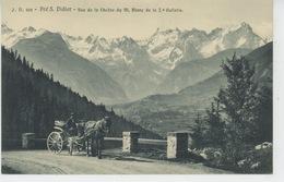 ITALIE - VALLE D'AOSTA - PRÉ S. DIDIER - Vue De La Chaîne Du Mont Blanc - Italie