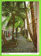 ST. THOMAS / PALM PASSAGE. ONE OF THE FAMOUS SHOPPING ALLEYS OF CHARLOTTE AMALIE / Carte Vierge - Vierges (Iles), Amér.