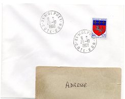 COTE D'OR - Dépt N° 21 = MOLPHEY 1968 = CACHET MANUEL A9 - Postmark Collection (Covers)