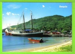THE DOCK / PORT ELISABETH / BEQUIA / Carte écrite En - Saint-Vincent-et-les Grenadines