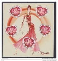 France  Bloc Feuillet Neuf Luxe ** 2003 N° 54 Timbre 3538 Saint Valentin Torrente Coeur Lot Vendu Sous Faciale - Bloc De Notas & Hojas