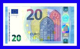 "20 EURO ""UE"" FRANCE  Firma DRAGHI U024 F5 CH 60 UNC SEE SCAN!!!!!!! - EURO"