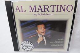 "CD ""Al Martino"" My Foolish Heart - Blues"