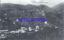101041 ITALY DORIA GENOVA S. COSIMO & S. MARTTINO VIEW GENERAL POSTAL POSTCARD - Italien