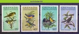Mwe2657 FAUNA VOGELS BIRDS VÖGEL AVES OISEAUX GRENADA GRENADINES 1980 PF/MNH # - Zangvogels