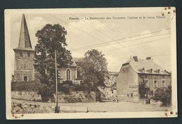 FAIRON. (Hamoir)  Le Restaurant Des Touristes, Eglise Et Vieux Tilleul. Desaix. - Hamoir