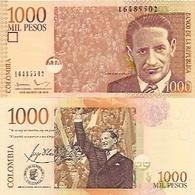 Colombia  P-456  1000 Pesos  2016  UNC - Colombia