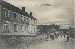 ALLIGNY-EN-MORVAN LA MAIRIE 58 - Francia