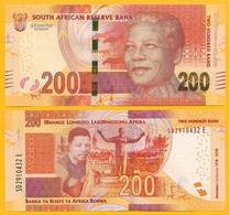South Africa 200 Rand P-new 2018 Commemorative Nelson Mandela UNC - Afrique Du Sud