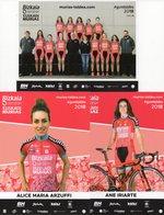 Cyclisme, Serie Bizkaia 2018, Sous Blister - Cyclisme