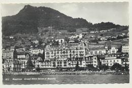 AK 09182217 Montreux Grand Hotel Suisse Et Majestic - D 1960 - VD Vaud