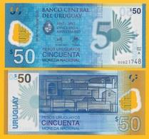 Uruguay 50 Pesos Uruguayos P-new 2018 Commemorative UNC - Uruguay