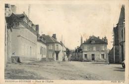 BRINON-SUR-BEUVRON PLACE DE L'EGLISE  58 - Brinon Sur Beuvron