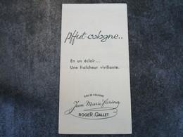 Pffut-cologne..En Un éclair, Une Fraîcheur Vivifiante - ROGER & GALLET - Parfums & Beauté