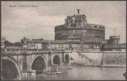 Castel Sant'Angelo, Roma, Lazio, C.1910 - STA Cartolina - Castel Sant'Angelo