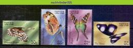 Mwe2668 FAUNA VLINDERS BUTTERFLIES SCHMETTERLINGE MARIPOSAS PAPILLONS NEVIS 1983 PF/MNH - Vlinders