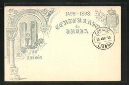 AK Lisboa, Centenario De India 1498-1898, Ganzsache - Lisboa