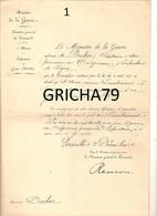 MANUSCRIT MILITAIRE - NOMINATION AU GRADE DE LIEUTENANT - 87EME REGIMENT INFANTERIE - Manuscrits