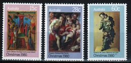 Australia 1980 Set Of Stamps To Celebrate Christmas. - 1980-89 Elizabeth II
