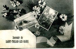 N°65410 -cpa Souvenir De Saint Trojan Les Bains - Ile D'Oléron