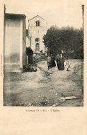 CPA - ALLAMPS (54) - Aspect De La Sortie De Messe Du Curé Et D'une Famille De Notable En 1906 - France