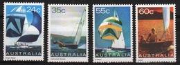Australia 1981 Set Of Stamps To Celebrate Yachts. - 1980-89 Elizabeth II