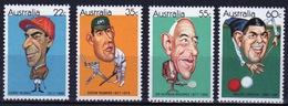 Australia 1981 Set Of Stamps To Celebrate Sporting Personalities. - 1980-89 Elizabeth II