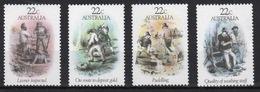 Australia 1981 Set Of Stamps To Celebrate Gold Rush Era. - 1980-89 Elizabeth II