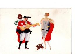 Illustrateur TARQUINO SINI. Danse Et Musique.  Edizione Ditta Giuseppe Dessi. Voir Scan. - Illustrators & Photographers