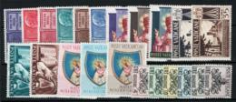 Vaticano 1954 Annata Completa/Complete Year MNH/** VF - Vaticano