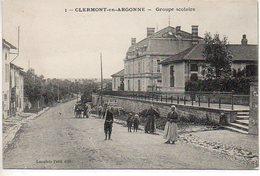 Clermont En Argonne : Groupe Scolaire - Clermont En Argonne