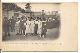 MARCHE DES MIDINETTES. 25/10/1903. AVANT LE DEPART - France