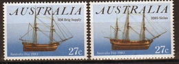 Australia 1983 Set Of Stamps To Celebrate Australia Day. - 1980-89 Elizabeth II