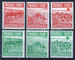 Australia 1953 Set Of Stamps To Celebrate Food Production. - 1952-65 Elizabeth II : Pre-Decimals