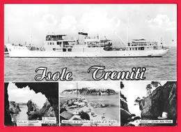 ISOLE TREMITI - S. DOMINO - TRAGHETTO - NAVE - SHIP - BATEAUX - FERRY BOAT - Altri