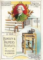 CHROMOS IMAGES LOT DES 2.  HUNTLEY  PALMERS BISCUITS - Vieux Papiers