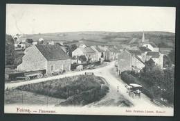 FAIRON. (Hamoir) Le Village. Animation, Attelages Agricoles. Voyagée En 1909. Scan Recto/verso. - Hamoir