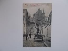 CPA -  Liège - La Montagne De Bueren , Animation 1909 - Liege