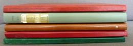 World Collection In 5 Stockbooks Used/gebruikt/oblitere/Mint Hinged/Neuf Avec Charniere - Postzegels