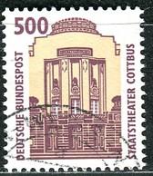 BRD - Mi 1679 - OO Gestempelt (A) - 500Pf Sehenswürdigkeiten XIV - [7] West-Duitsland