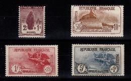 YV 229 à 232 N* 3eme Orphelins Complete Centrage Correct Cote 210+ Euros - France