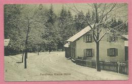 68 - Environs SAINTE MARIE Aux MINES - Forsthaus Kleine Höhe - Maison Forestière - France