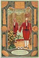 PUB CALENDRIERS  LU   AN 1907 - Calendars