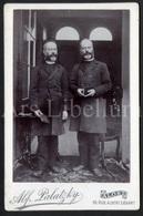 Photo Ancien / Cabinet Card / Tweeling / Men / Hommes / Aalst / Photographer Alf. Palatzky / Twin / Jumeaux - Fotos