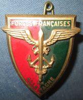 F.F.A, émail - Armée De Terre